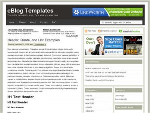 Ads Theme Blogger Template