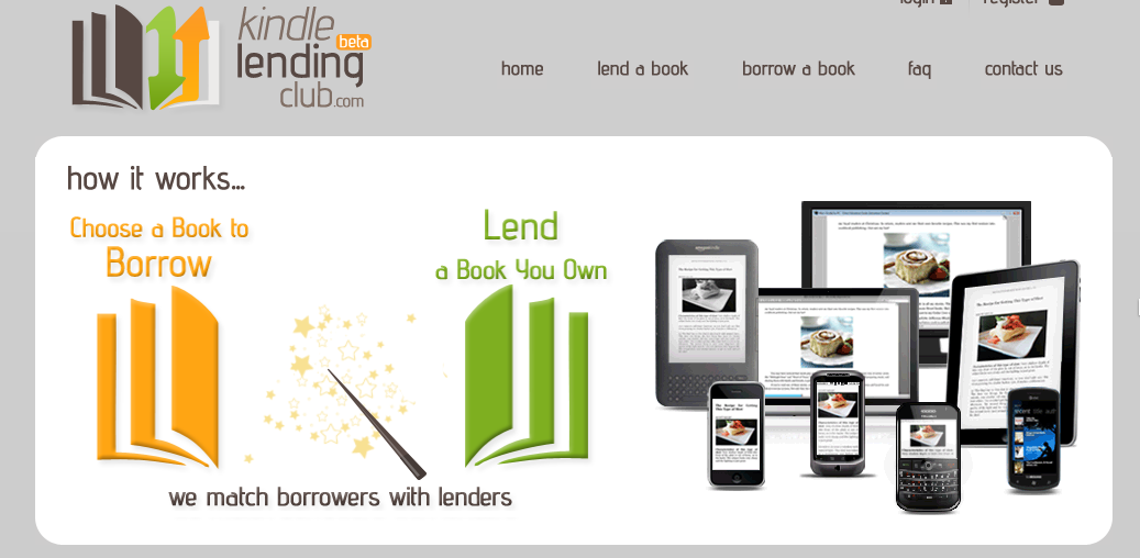 kindle ebook lending club