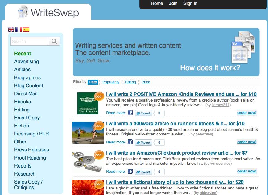 WriteSwap.com