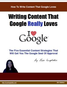 writing content that google loves