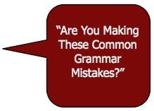 common mistakes in grammar