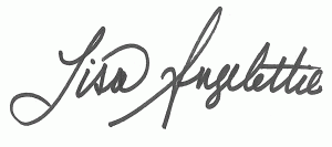 lisa angelettie signature