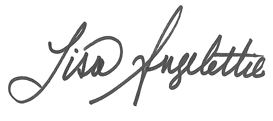 lisa angelettie signature