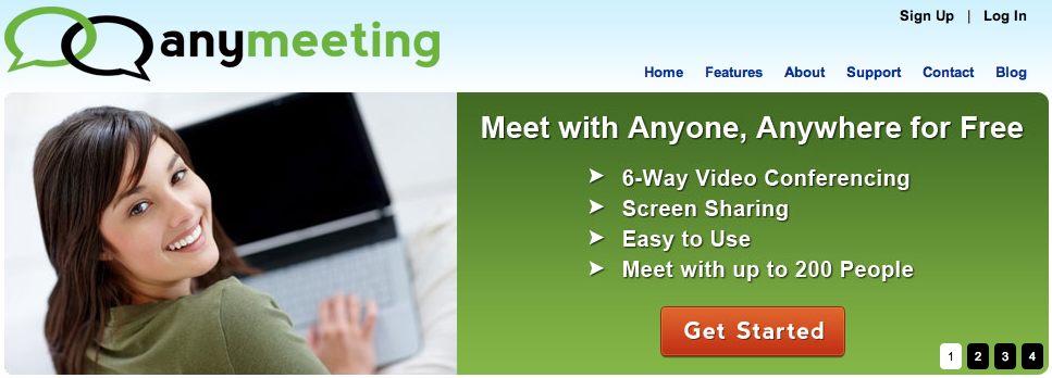 anymeeting screen sharing