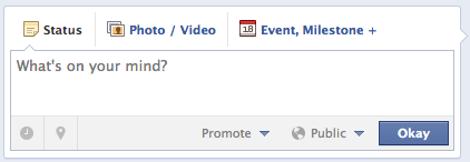 schedule facebook fan post