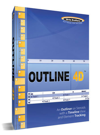 outline 4d writing software