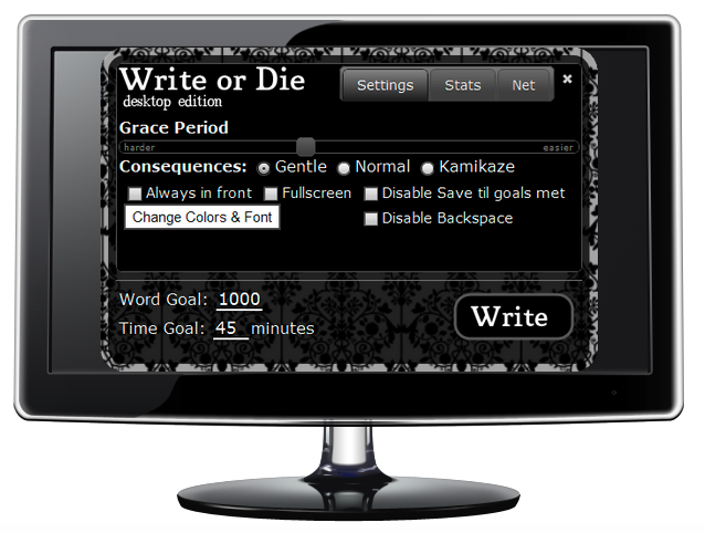 Write or Die Desktop Version